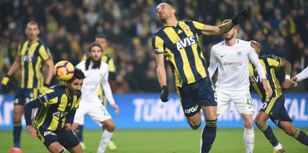 Fenerbahçe'den orta yağmuru! Tam 38 kez...