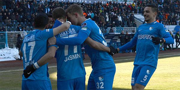 Erzurum'da tam 6 gollü maç!