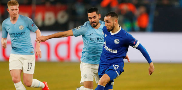 Schalke Manchester City Tv