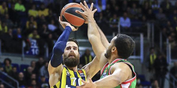 Fenerbahçe Beko, Darüşşafaka engelini rahat geçti!