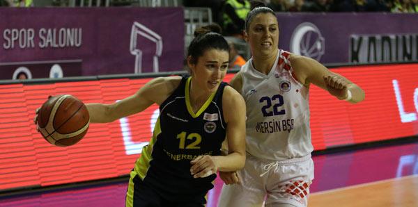 Mersin Büyükşehir Belediyespor - Fenerbahçe: 36-60