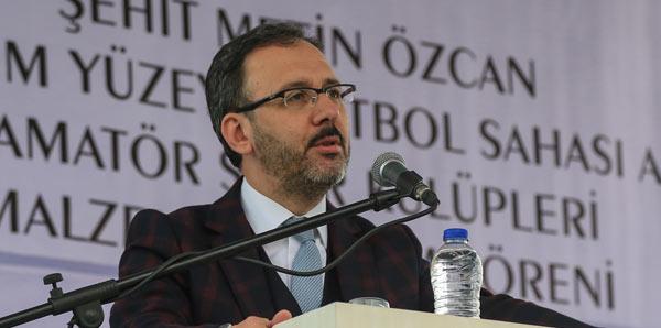 Bakan Kasapoğlu, Fenerbahçe'yi tebrik etti