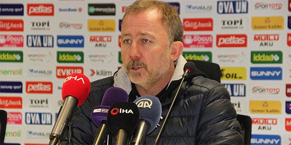 Sergen Yalçın: Akhisarspor bizden daha fazla istedi