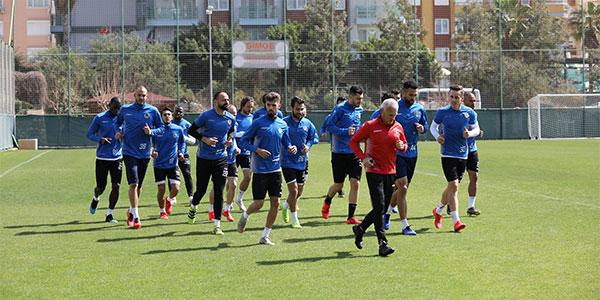 Aytemiz Alanyaspor'da Erzurumspor mesaisi başladı