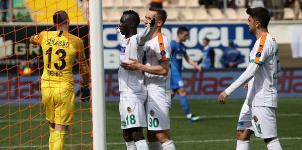 Alanyaspor-BB Erzurumspor: 2-1
