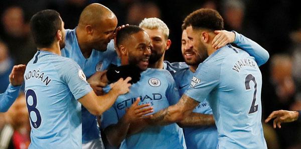 Manchester City 6. viteste