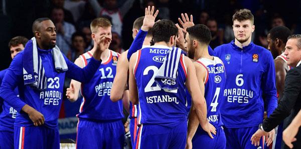 Anadolu Efes, Maccabi FOX'a konuk olacak