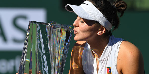 Indian Wells'in galipleri Thiem ve Andreescu