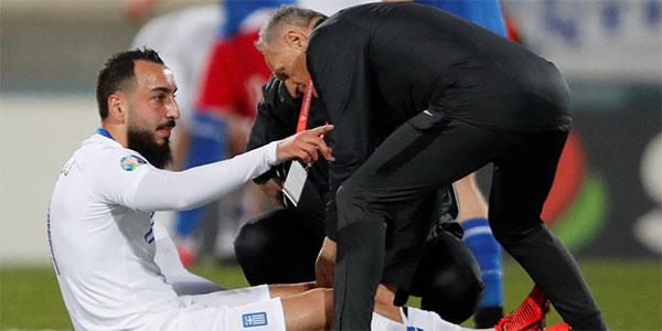 Galatasaraylı Mitroglou sakatlandı