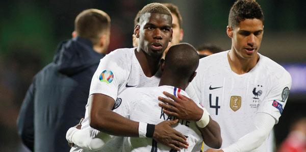 Rakibimiz Fransa yıldızlarıyla gol yağdırdı!