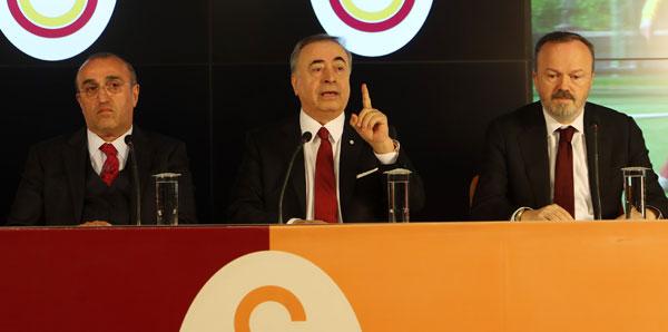 Galatasaray Başkanı Mustafa Cengiz: 'Görevimizin başındayız'