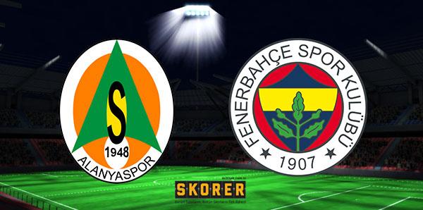 A. Alanyaspor  - Fenerbahçe (CANLI)