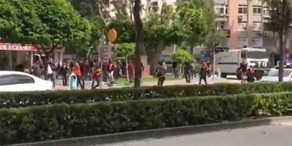 Adana'da derbi öncesi olay çıktı