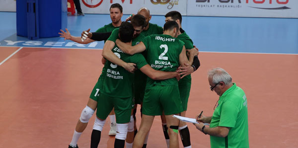 Bursa Büyükşehir Belediyespor, Efeler Ligi'ne yükseldi