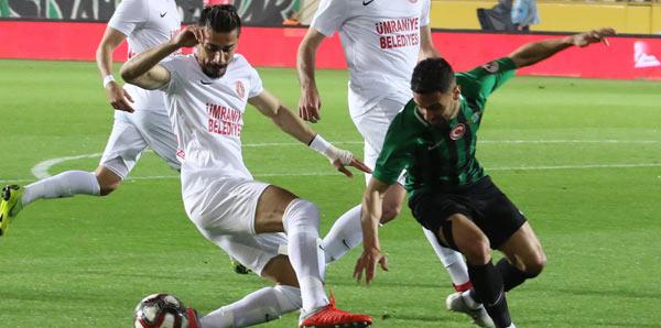Akhisarspor - Ümraniyespor: 1-0