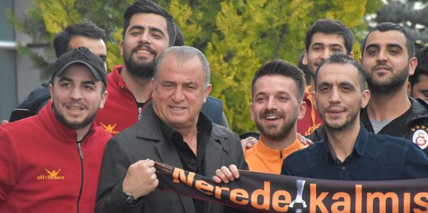 Galatasaray kafilesi Malatya'da!