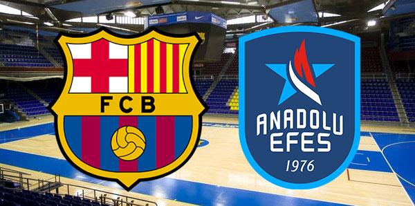 Barcelona Lassa Anadolu Efes maçı ne zaman saat kaçta hangi kanalda?