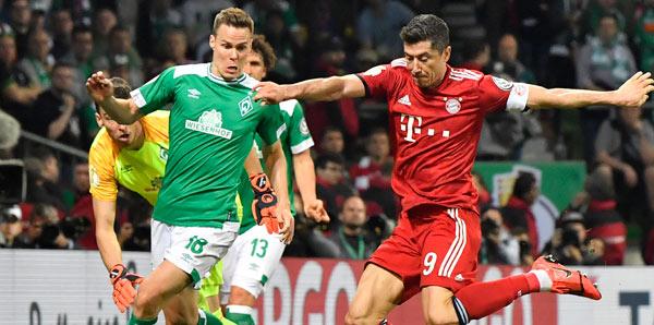 Bayern Münih, Almanya Kupası'nda finalde