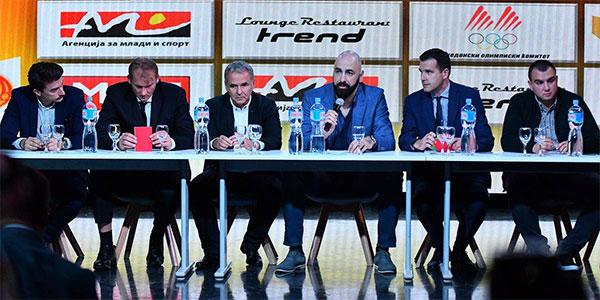 Pero Antic, Kuzey Makedonya Basketbol Federasyonu Başkanı oldu