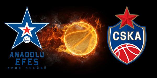 Anadolu Efes - CSKA Moskova (CANLI)