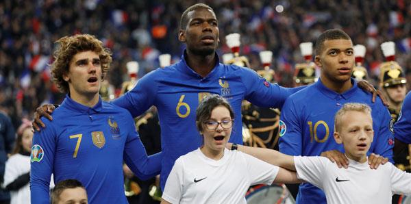Fransa Milli Takımı'nın Türkiye maçı kadrosu belli oldu