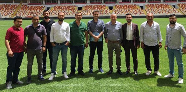 UEFA denetçileri Yeni Malatya Stadyumu'nu inceledi