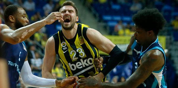 Olaylı maçı Fenerbahçe Beko kazandı!