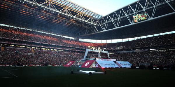 Galatasaray şampiyonluğu kutluyor (CANLI)