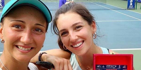 İpek Soylu Tayland'da çiftlerde şampiyon