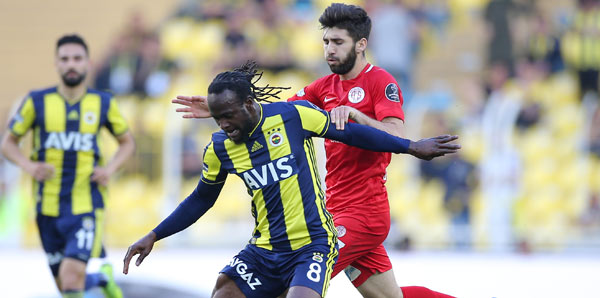 Fenerbahçe, evinde Antalyaspor'a geçit vermedi! 4 gol...