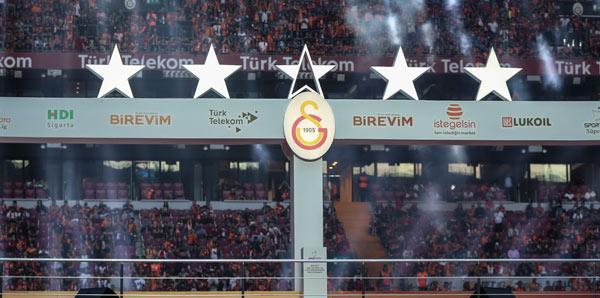 Galatasaray'dan 5. yıldız mesajı