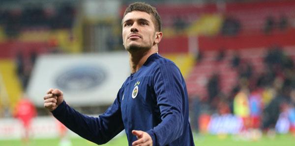 Neustadter, Fenerbahçe'ye veda etti!