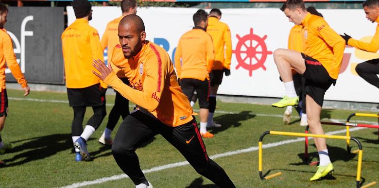 Galatasaray yeni transferi Marcao, Florya'da sahnede!