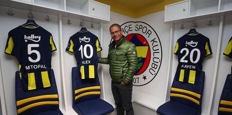 Fenerbahçe'den Alex de Souza'ya teklif!