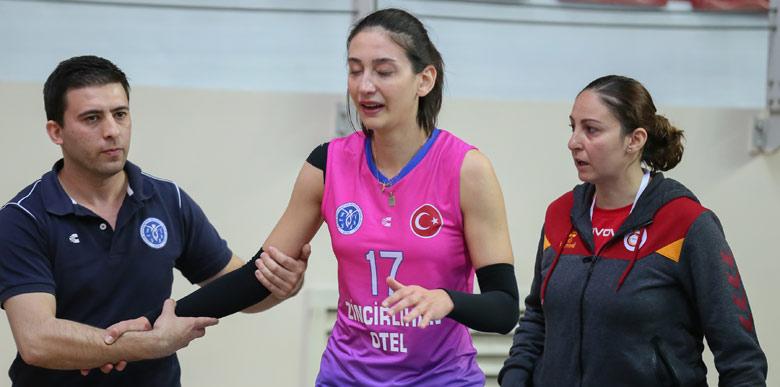 Galatasaray yarı finalde! Fulden'in talihsizliği...