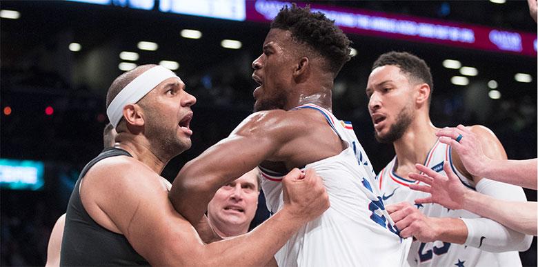 Ortalık bir anda karıştı! NBA play-off'larda...