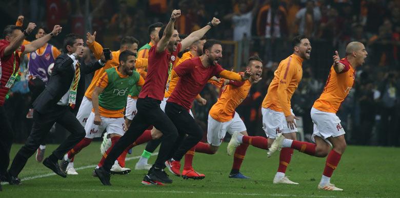Galatasaray'da 22. şampiyonluk coşkusu!