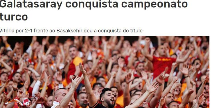 Avrupa, G.Saray'ın şampiyonluğunu böyle gördü!