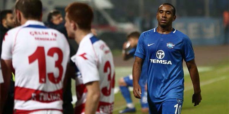 Adana Demirsporlu Anderson kayıplara karıştı!