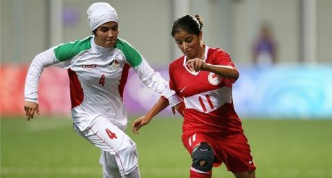İran'lı Futbolcu Kızların İlginç Görüntüleri