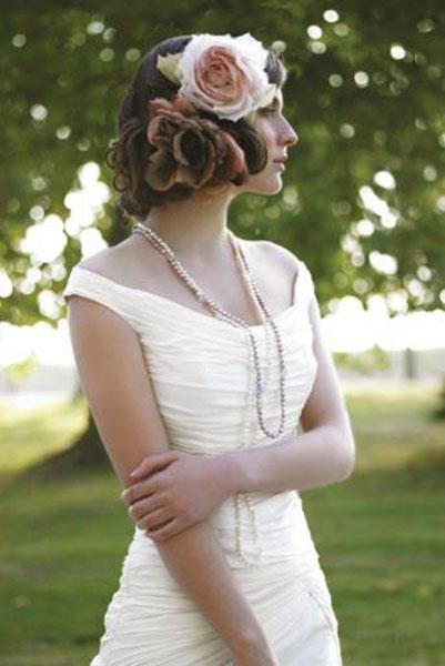 Gelin saçlarında nostalji modası