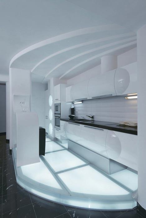 Fütüristik Ev Tasarımları
