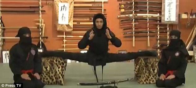 İranlı kadınlar Ninja oldu!