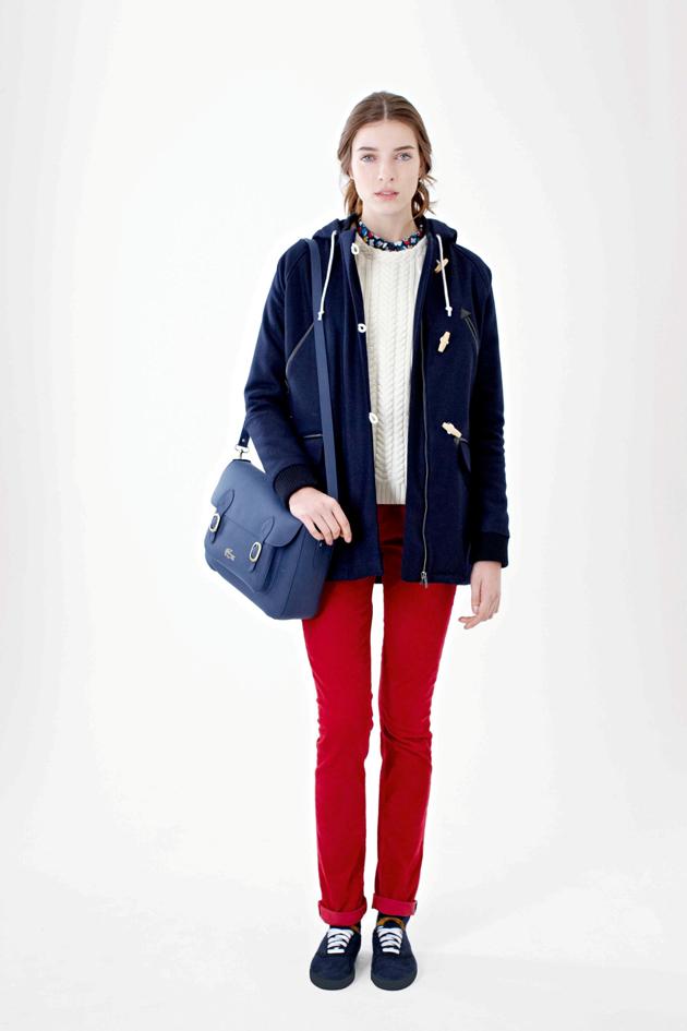 Lacoste L!ve 2012 Sonbahar-Kış Kadın Koleksiyonu