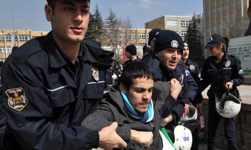 Hacettepe Üniversitesi'nde olaylar çıktı