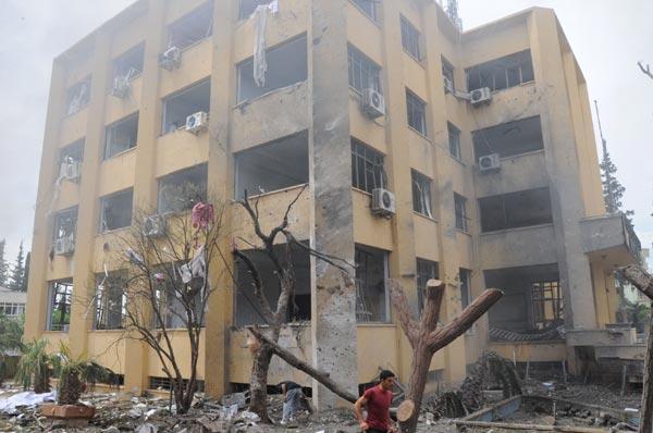 Patlamadan sonra Suriyeliler'e saldırıldı