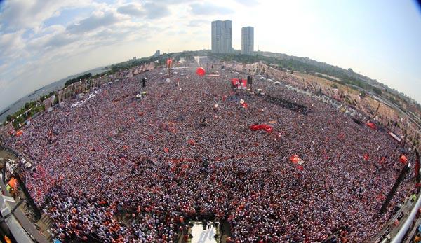 Erdoğan Kazlıçeşme mitinginde konuştu!
