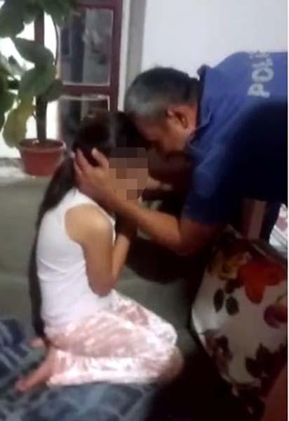 Küçük kızın yürek burkan haykırışı: Lütfen beni götürmeyin!