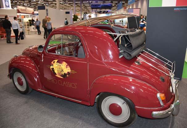 Klasik otomobiller Frankfurt'ta görücüye çıktı