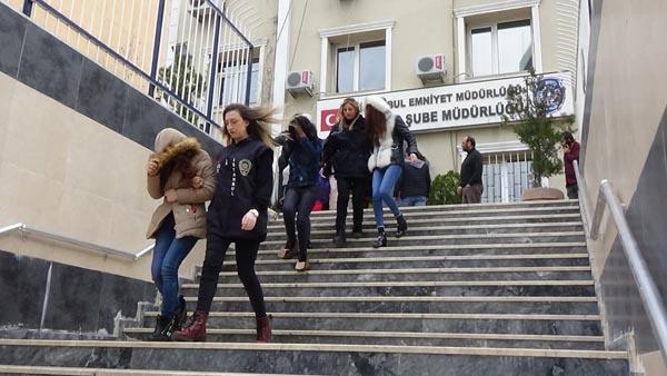 İstanbul'da fuhuş tuzağı! 20 şüpheli tutuklandı